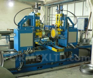 Машина за кантоване на цилиндрични детайли от листов материал