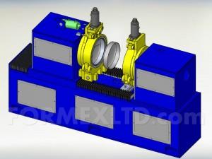 Машина за скопчаване на дъна 3D модел